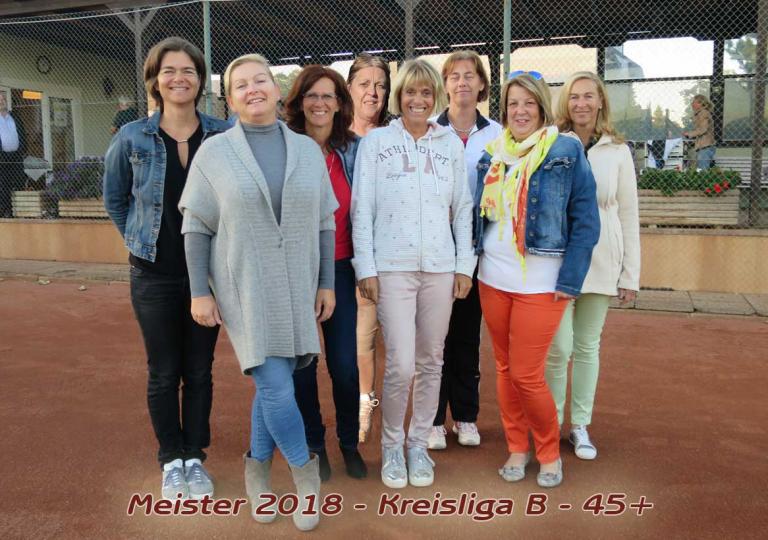 Meistermannschaft Damen45+